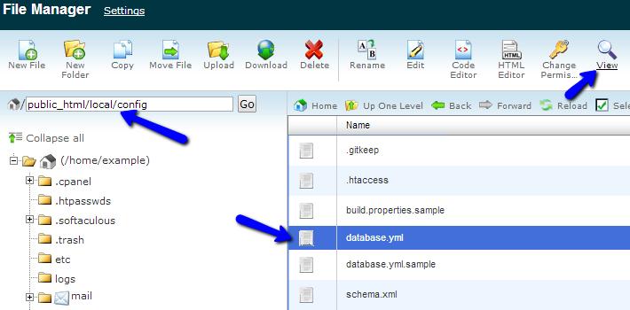 Thelia configuration file