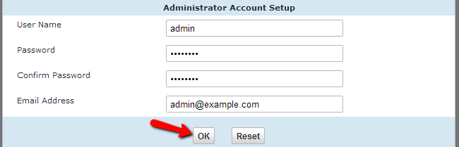 Create admin account in vBulletin