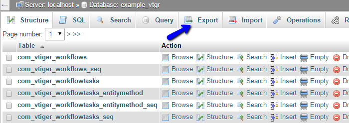 How to Backup vTiger - vTiger Tutorial - FastComet
