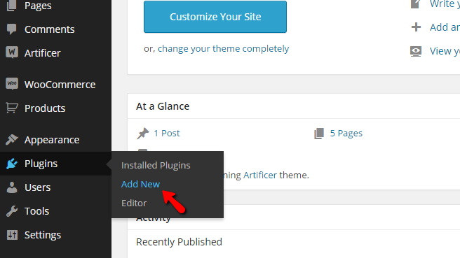 adding a new plugin to your website