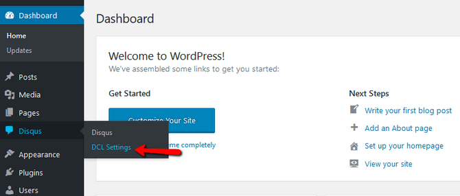 Access Disqus Conditional Load Plugin Settings in WordPress