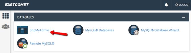 Access phpMyAdmin Administration Tool via cPanel