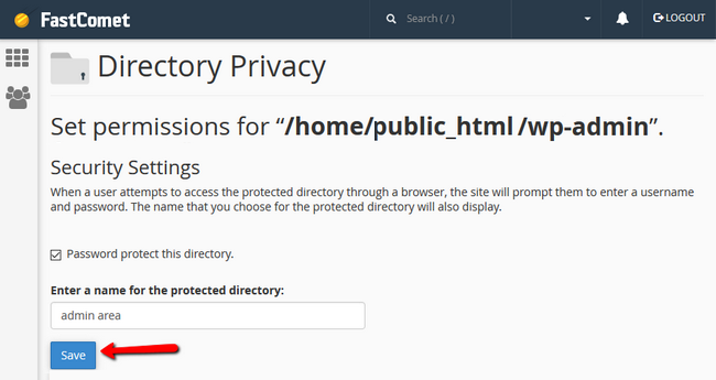 Activating Directory Privacy