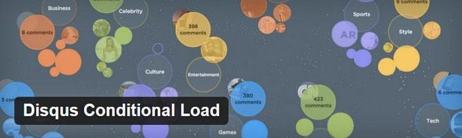 Disqus Conditional Load WordPress Plugin