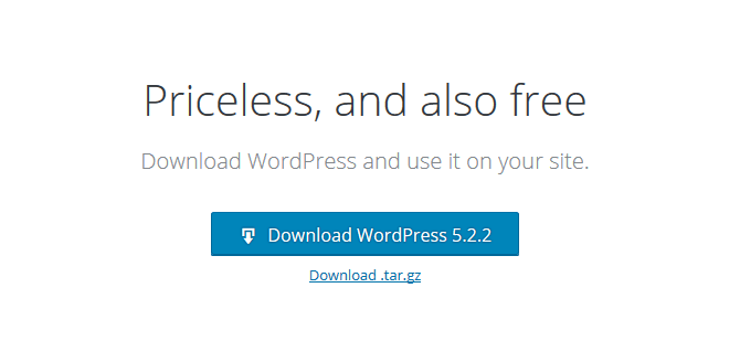 Download WordPress