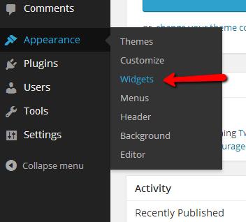 Appearance-widgets