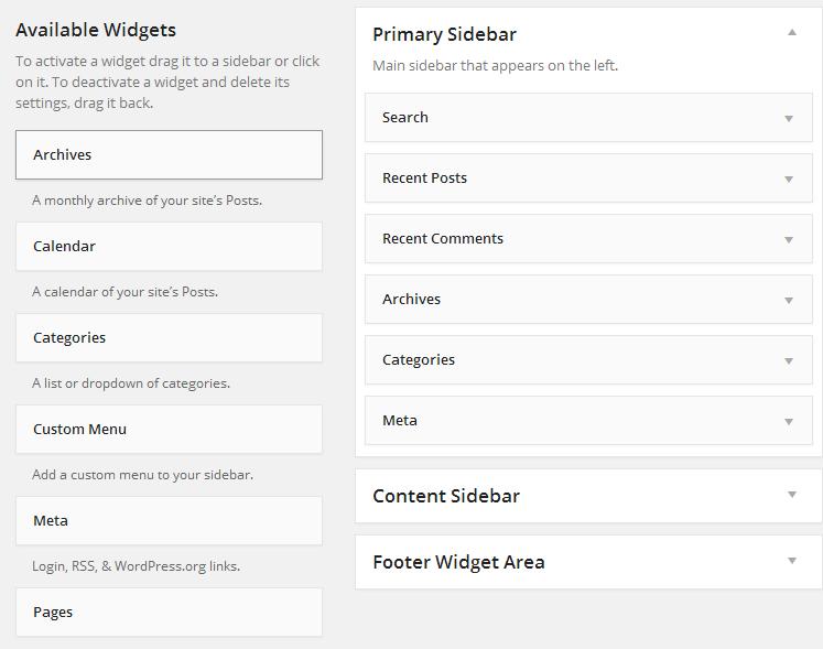 widgets-page